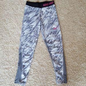 Youth Nike pro training leggings